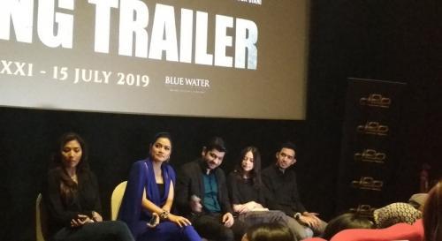 Titi Kamal membeberkan beberapa kejadian aneh yang dialami kru film Makmum saat syuting. (Foto: Okezone/Hana Futari)