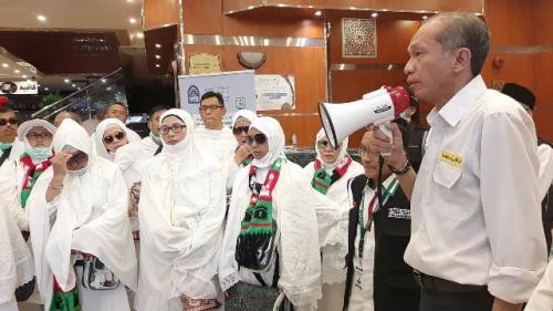 Kepala Pusat Kesehatan Haji Eka Jusuf Singka. (Foto: Darmawan/MCH 2019)