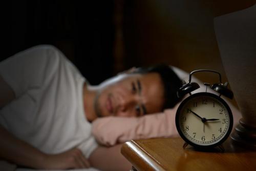 Ilustrasi terbangun jam 3