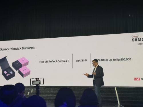 Samsung resmi meluncurkan smartphone Galaxy A80 di Indonesia.