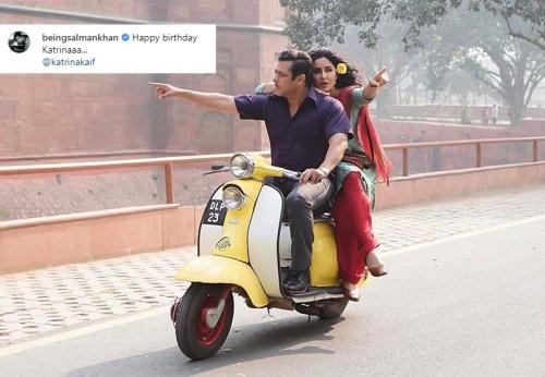 Katrina Kaif dan Salman Khan