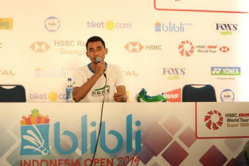 Tommy Sugiarto di Indonesia Open 2019