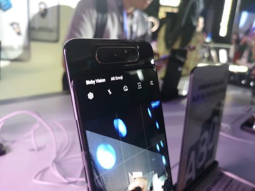 Samsung luncurkan ponsel Galaxy A80 di Indonesia