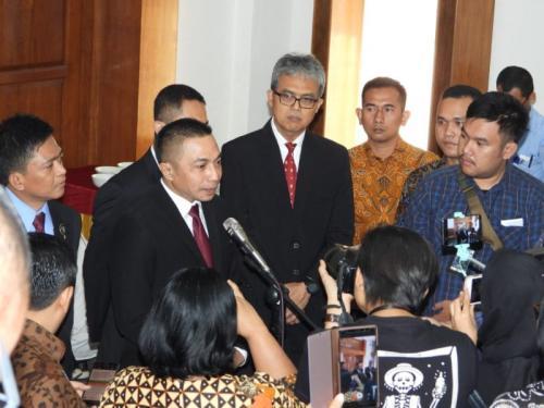 Pelantikan Irjen Dharma Pongrekun Sebagai Wakil Kepala BSSN (foto: Ist)