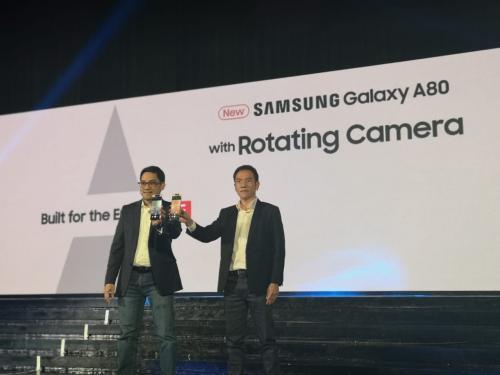 Samsung luncurkan ponsel Samsung Galaxy A80 di Indonesia