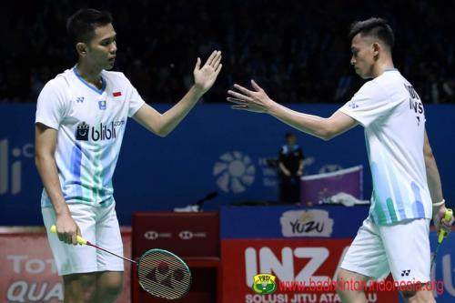 Fajar Alfian/Muhammad Rian Ardianto mengalami penurunan prestasi