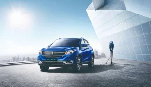 Mobil Glory E3 bertipe Sport Utility Vehicle (SUV) digadang-gadang sebagai mobil listrik pertama DFSK di Indonesia.