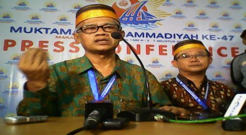 Ketum PP Muhammadiyah Haedar Nashir. (Foto: Dok Okezone)