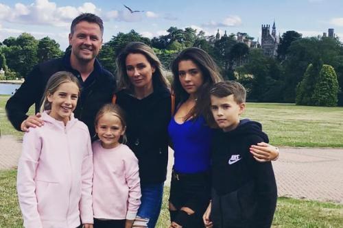 Michael Owen dan keluarga