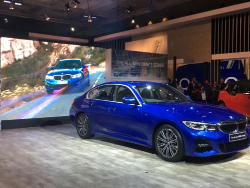 All-New BMW Seri 3 meluncur di GIIAS 2019. Foto: Medikantyo/Okezone