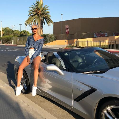 Kimmy Jayanti mobil sport
