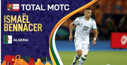 Ismael Bennacer menjadi pemain terbaik Piala Afrika 2019