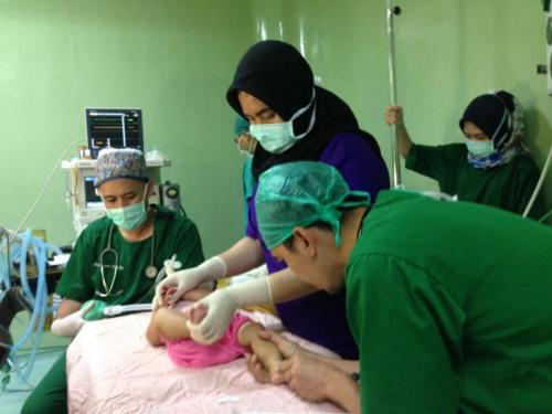 Operasi Bibir Sumbing MNC Peduli (foto: Istimewa)
