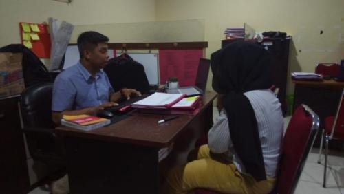 Mahasiswi Buat Rekayasa Penculikan demi iPhone X (foto: Herman Amiruddin/Okezone)