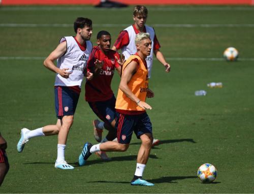 Mesut Ozil diragukan bakal memberi dampak besar bagi Arsenal