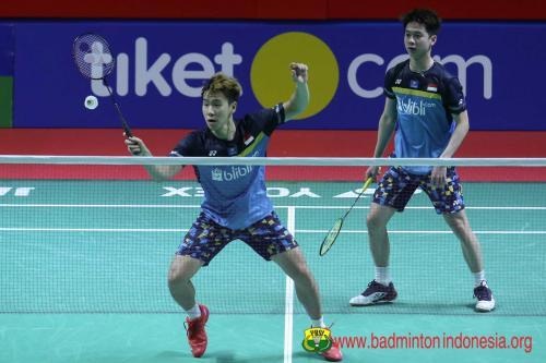 Marcus/Kevin berjumpa Ahsan/Hendra dalam All Indonesian Final