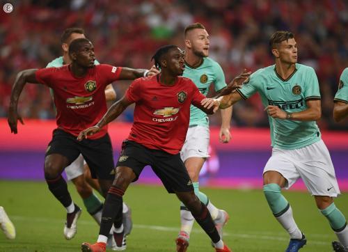Man United vs Inter Milan di ICC 2019