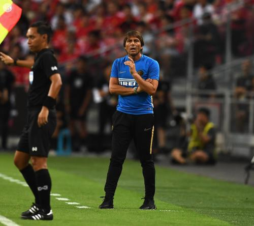 Antonio Conte menangani Inter Milan