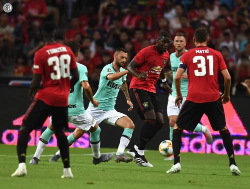 Man United vs Inter Milan di ICC 2019