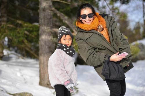 Ayu Ting Ting ungkap alasannya mau mempertemukan anak dan mantan suami. (Foto: Instagram)