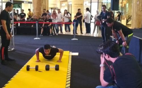Kevin Gunawan Lim mengungkapkan, kompetisi R U Tough Enough tak hanya dominasi peserta bertubuh atletis. (Foto: Okezone/Hana Futari)