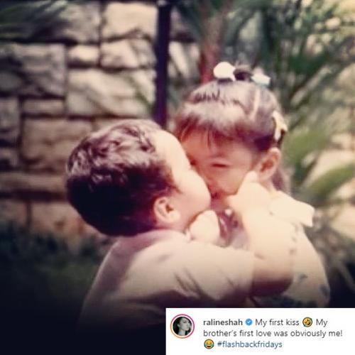 Raline Shah blakblakan mengungkapkan pria yang 'mencuri' ciuman pertamanya. (Foto: Instagram)