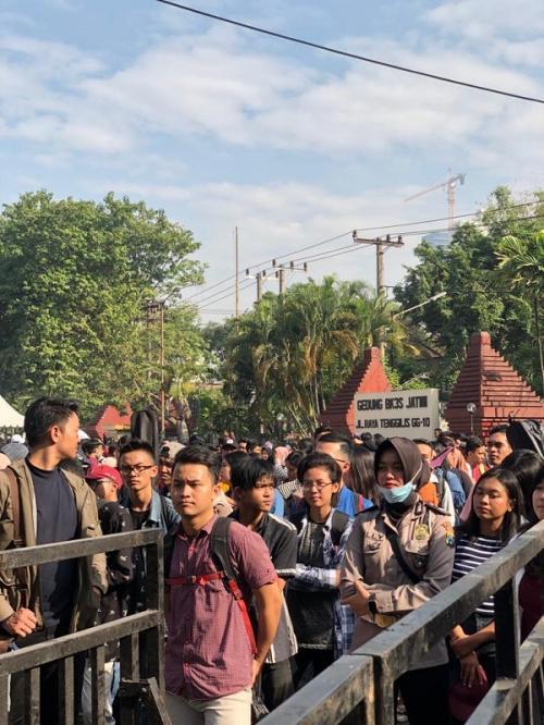Audisi Indonesian Idol X di Surabaya. (Foto: Instagram)