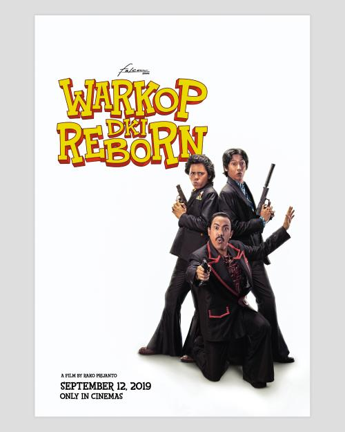 Poster Warkop DKI Reborn. (Foto: Falcon Pictures)