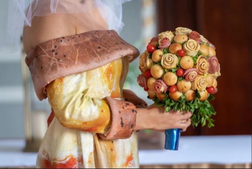 uniknya gaun pizza