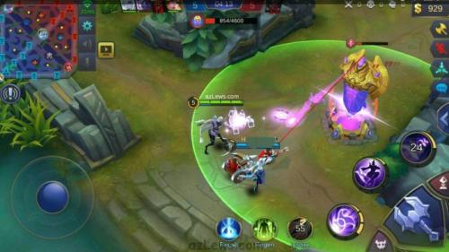 Game Mobile Legends bisa dimainkan di smartphone dengan OS Android.