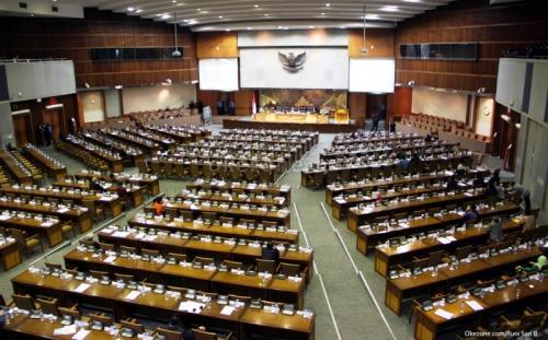 Sidang MPR/DPR RI. (Foto: Okezone)