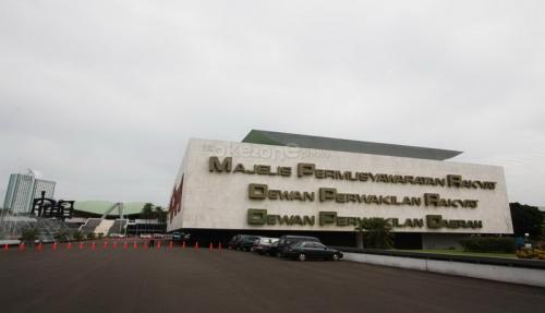 Gedung MPR, DPR, dan DPD RI. (Foto: Okezone)