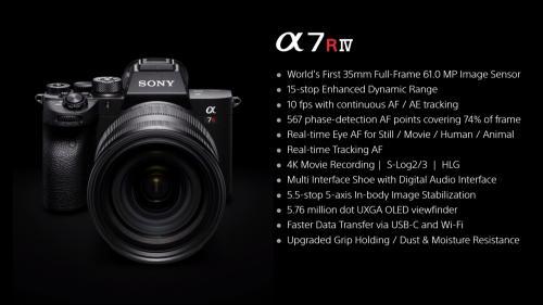 Kamera Sony terbaru, Alpha-7R merupakan sistem kamera full-frame yang memiliki kekuatan tembak 61MP.