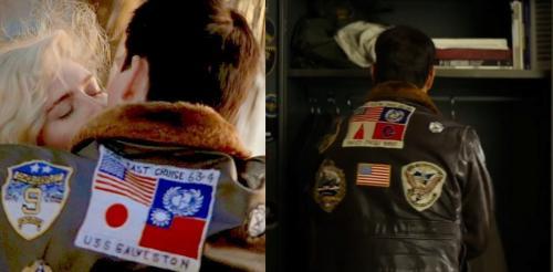 Jaket Maverick di Top Gun 1 dan 2