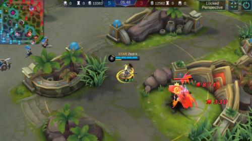 Game Mobile Legends menghadirkan hero-hero yang bisa dipilih oleh gamer.