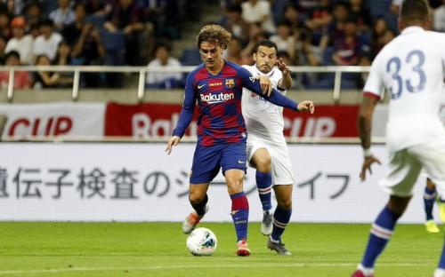 Griezmann bakal buat lini depan Barca lebih tajam musim depan