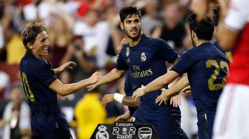 Real Madrid vs Arsenal di ICC 2019
