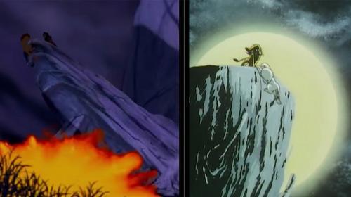 Lion King vs Kimba the White Lion