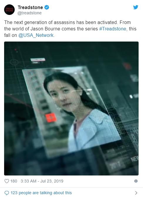 Penampilan Han Hyo Joo dalam teaser perdana serial Treadstone. (Foto: Twitter)