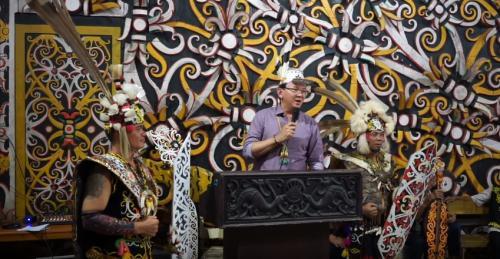 Ahok BTP Suku Dayak