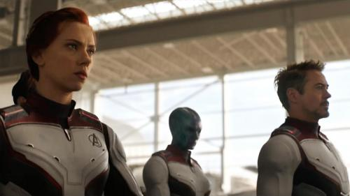 time travel Avengers: Endgame