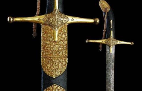Salah satu pedang Nabi