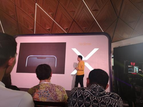Realme X resmi meluncur di Indonesia
