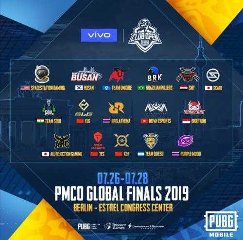 PUBG Mobile Resmi Gelar Global Final 2019 di Belrin