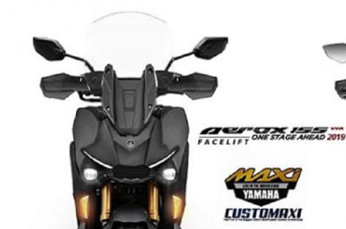 Yamaha Aerox facelift