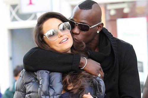 Hasil gambar untuk Mario Balotelli dan Tabby Brown