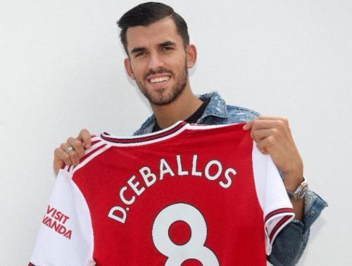Dani Ceballos diperkenalkan sebagai pemain anyar Arsenal