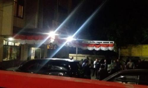 Penembakan sesama polisi di Polsek Cimanggis Depok. (Foto: Okezone)