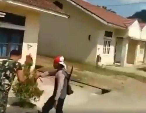 Cek Fakta Heboh Video Penyerangan Anggota TNI yang Dikabarkan di Papua (foto: Ist)