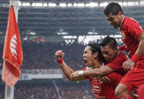 Persija Jakarta vs PSM Makassar di final leg I Piala Indonesia 2018